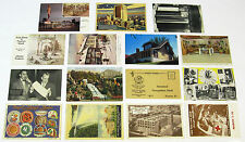 1930's 1940's 1950's Postcards ~ ADVERTISING ~ 15 postcards ~ Free Shipping