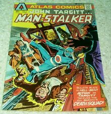 John Targitt Man Stalker #2, NM- (9.4) 1975 Atlas, 50% off Overstreet