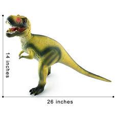 Realistic T-Rex w/ Sound Toy Dinosaur Figure Roaring PVC Large Toy Tyrannosaurus