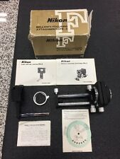 NIKON PB-5 Bellows Focusing Attachment with PS-5 Slide Copying Adapter