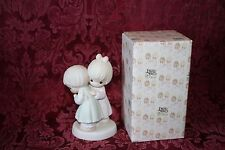 Precious Moments 1990 # 521183 That's What Friends Are For Figurine W/ Box USED