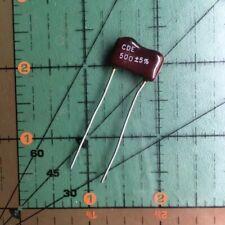 120pF 500V 5/% Radial Mica Capacitors CM05FD121J03 SPRAGUE Lot 10