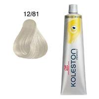 Wella Koleston Perfect Hair Color # 12/81 Special Blonde Pearl Ash 60 ml each