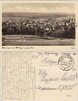 Kamenz Kamjenc Blick über die Stadt vom Hutberg Ansichtskarte Oberlausitz 1942