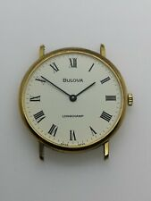 Bulova Longchamp Vintage Watch with ETA 2512 Movement, 33mm Working (P46)