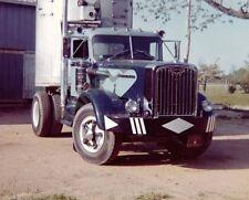 "1950's Autocar Diesel Truck and Trailer Semi Truck Rig 8""x 10"" Photo 21"