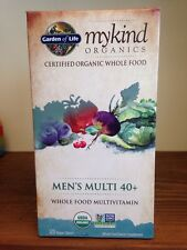 Garden Of Life MYKIND Organics MEN's Multi 40+ 120 Vegan Tablets Non-GMO Multi