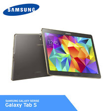 Samsung SM-T800 Galaxy Tab S 10.5in WiFi 32Gb Tablet Android 4.4 Titanium Bronze