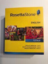 Brand New Sealed in Box Rosseta Stone English Level 1 Version 4 Software