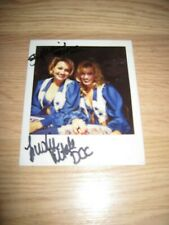 1996 Dallas Cowboys Cheerleaders One Of A Kind Signed Polaroid Photo/Free Ship!