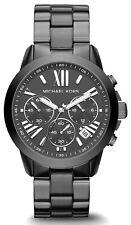 Michael Kors MK6303 Grey Dial Gunmetal Stainless Steel Chronograph Women's Watch