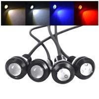 2PCS 18MM 1.5W 12V CAR EAGLE EYE LED BRAKE BACKUP SIGNAL LAMP BULB LIGHT SUPER
