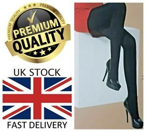 New Women's 150 Denier Bamboo Ultra Soft Full Length Breathable Cooling Tights