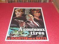 Cinema Plakat Original Belgisches A Messersatz Tires . Association P Mondy