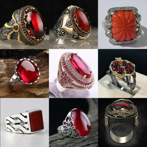 925 Silver Creative Jewelry Rings Fashion Men Women Wedding Party Gift Size 6-13