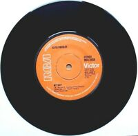 """NEAR MINT NM EX+! ELVIS PRESLEY: MY BOY b/w LOVING ARMS (RCA 2458) 7"""" VINYL 45"""