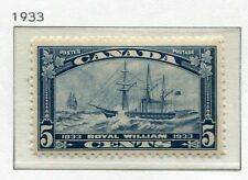 1933 Canada.  Centenary of First Trans-Atlantic Steamboat Crossing. 5c blue MLH.