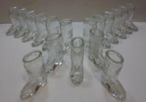 SEVENTEEN JIM BEAM GLASS SHOT BOOTS