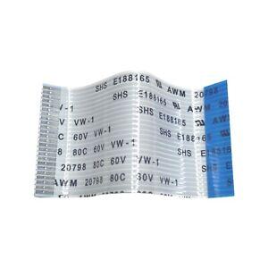SHS FFC ribbon cable 23-pin 50mm x 24mm 1mm pitch E188165 AWM 20798 85C 60V VW-1