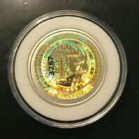 Unfunded/no loaded value- LEALANA GOLD HOLO .25 ser 2 - like bit coin CASASCIUS
