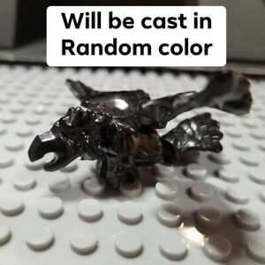 Custom Cast In Random Color Flying Creature compatible with WoW Mega Construx