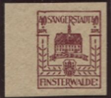Lokal Finsterwalde 10 yy (dünnes Papier) postfrisch BPP-geprüft selten (B08485)