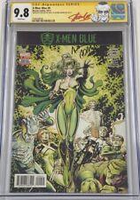 Marvel X-Men Blue #9 X-Men #50 Homage Signed by Stan Lee & Art Adams CGC 9.8 SS