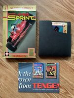 Super Sprint (Nintendo Entertainment System, NES) *AUTHENTIC, TESTED*