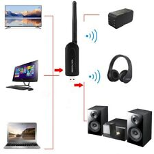 New USB Bluetooth Wireless A2DP Audio Transmitter Stereo Adapter for TV PC DVD