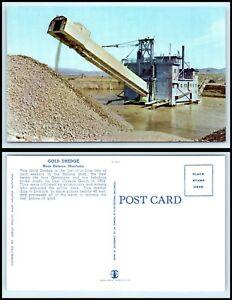 MONTANA Postcard - near Helena, Gold Dredge K47
