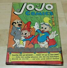 New ListingJo-Jo Comics Fall 1946 #3 Comic Book Fox Feature Syndicate