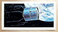 Brooke Bond RACE INTO SPACE card 26. ATS 3 communications satellite.