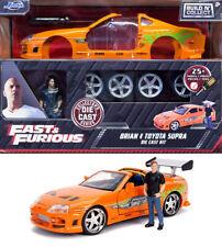1995 Toyota Supra Fast & Furious + Brian Figur Model Kit 1:24 Jada Toys 30699