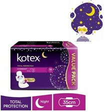 🤑SAVE on shipping! 🇲🇾 KOTEX Total Protection Guard Overnight Wing (35cm/14's)