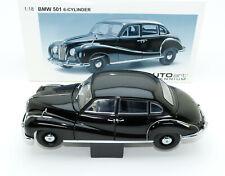 BMW 501 6-cylinder 1952-1954 schwarz black noir nero negro AUTOart 70602 1:18