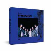 VAV POISON 5th Mini Album CD+Photobook+Photocard+Folded Poster+Tracking Number