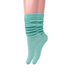 Cotton Lightweight Slouch Socks for Women Size 9-11
