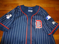 Vintage Starter Jersey Detroit Tigers Mens XL Pinstripe Rare New Without Tags