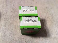 2-INA  /bearings #IR20x25x20 ,30 day warranty, free shipping lower 48!