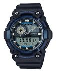 Casio Watch * AEQ200W-2AV Illuminator World Time Anadigi Blue/Black COD PayPal <br/> SPECIAL OFFER! Nationwide COD Free Ship Meet Up PayPal