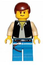 New Lego Star Wars Han Solo 20th Anniversary Minifigure 75262 sw1032 Authentic