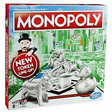 BRAND NEW Monopoly Classic New Token Line Up   XMAS FAMILY FRIENDS GIFT