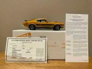 Danbury Mint 1970 Ford Mustang Mach I Twister Special, 1/24th scale, used