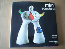 New listing Miro Sculpture by Leon Amiel,1974 Edition, Collectible Art Book With Lithographs