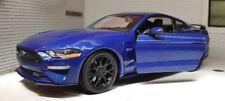 Ford Mustang GT 2018 naranja coche modelo 1 24 Motormax