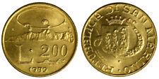 200 LIRE 1989 PROFILO DEL MONTE SAN MARINO Fdc Unc §477