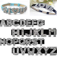 Letters A-Z DIY Charm Crystal For Making Jewelry Pendant Necklace Bracelet
