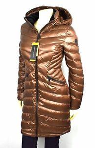 Andrew Marc Women's Packable Lightweight Premium Down Coat/Jacket