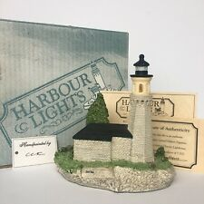 Fort Niagara Ny #113 Harbour Lights 1991 Retired Ltd Ed. w Coa Signed B. Younger