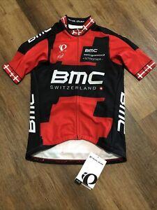 New Men's BMC EX-Danish Season 2014 Team 067 Thermal Short Sleeve Jersey Medium
